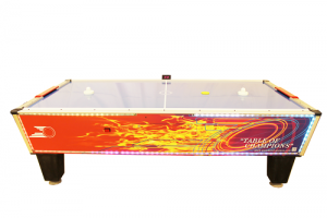 Gold Flare Home Air Hockey Table