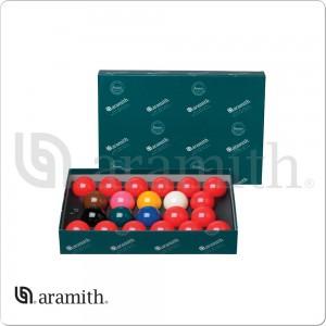 Aramith 2 1/8 Numbered Snooker Ball Set
