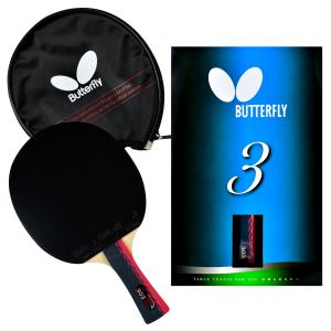 Butterfly 303-FL Racket Set