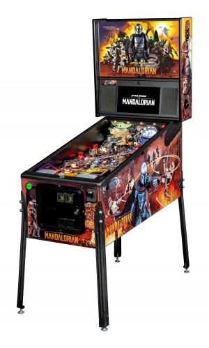 The Mandalorian Premium Pinball Machine (Pick Up Only)