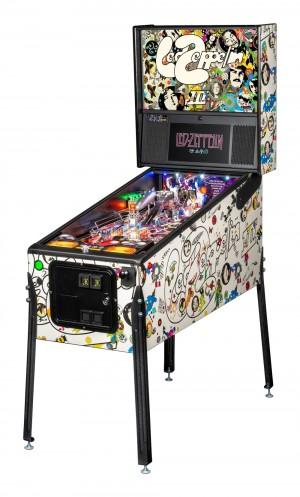 Led Zepplin Pro Pinball Machine (Pick Up Only)
