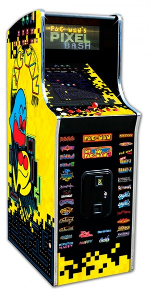 Pac-Man's Pixel Bash Home Upright Arcade Game