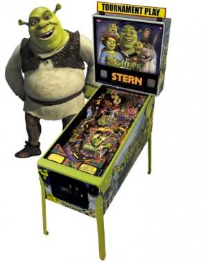 Shrek Pinball Machine (Pick Up Only)