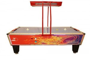 Gold Flare Home Elite Air Hockey Table