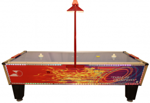 Gold Flare Home Plus Air Hockey Table