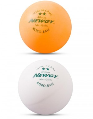 Newgy 2 Star Table Tennis Balls - 24 Pack